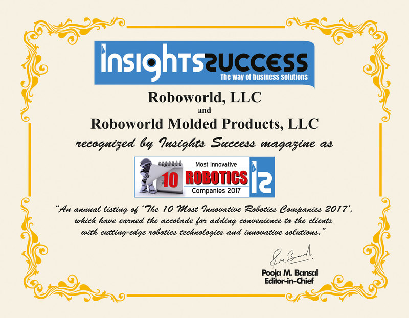 Most Innovative Robotics Companies of 2017 by Insights Success