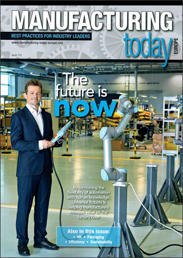 Manufacturing Today Europe Universal Robots cover
