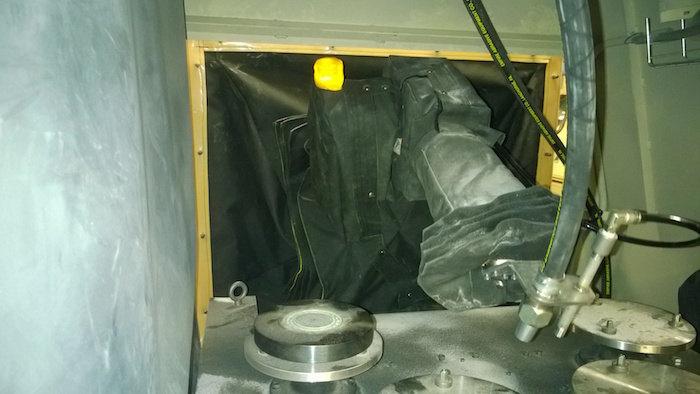 ABB IRB 140 Roboworld Blast Curtain Robosuit