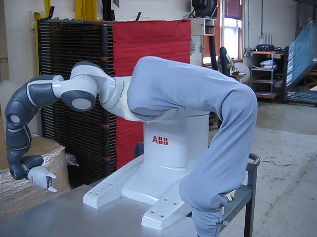 ABB YuMi Roboworld Disposable Robosuit Sleeve