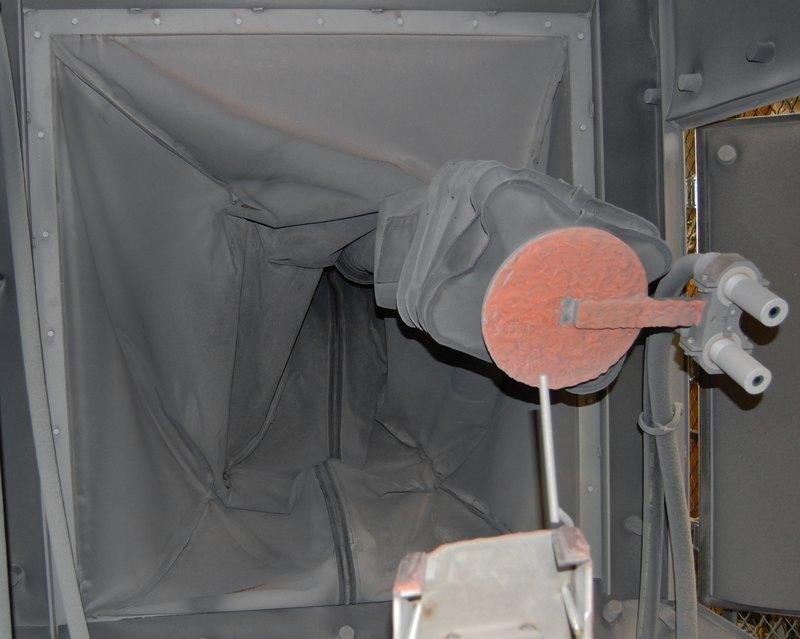 FANUC Roboworld Blast Curtain Robosuit