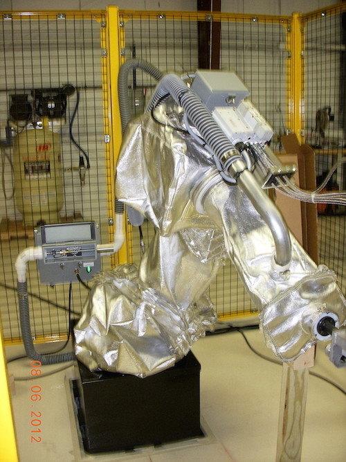 FANUC M16iB Roboworld Cooler Robosuit