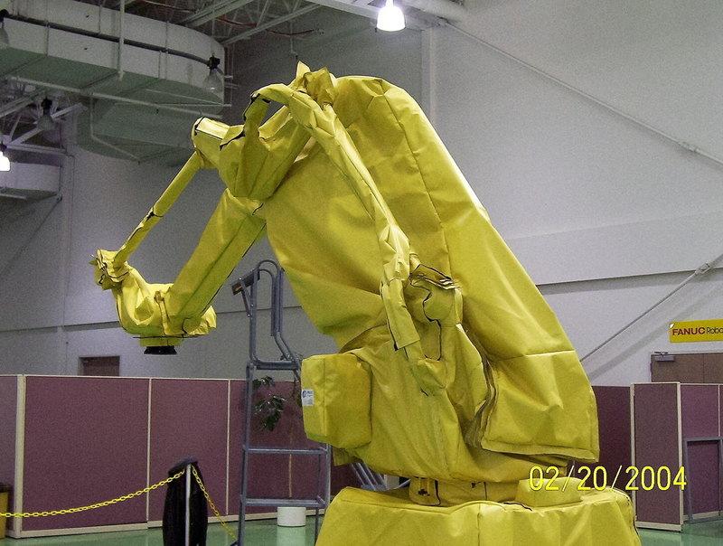 FANUC M410iB Roboworld Robosuit