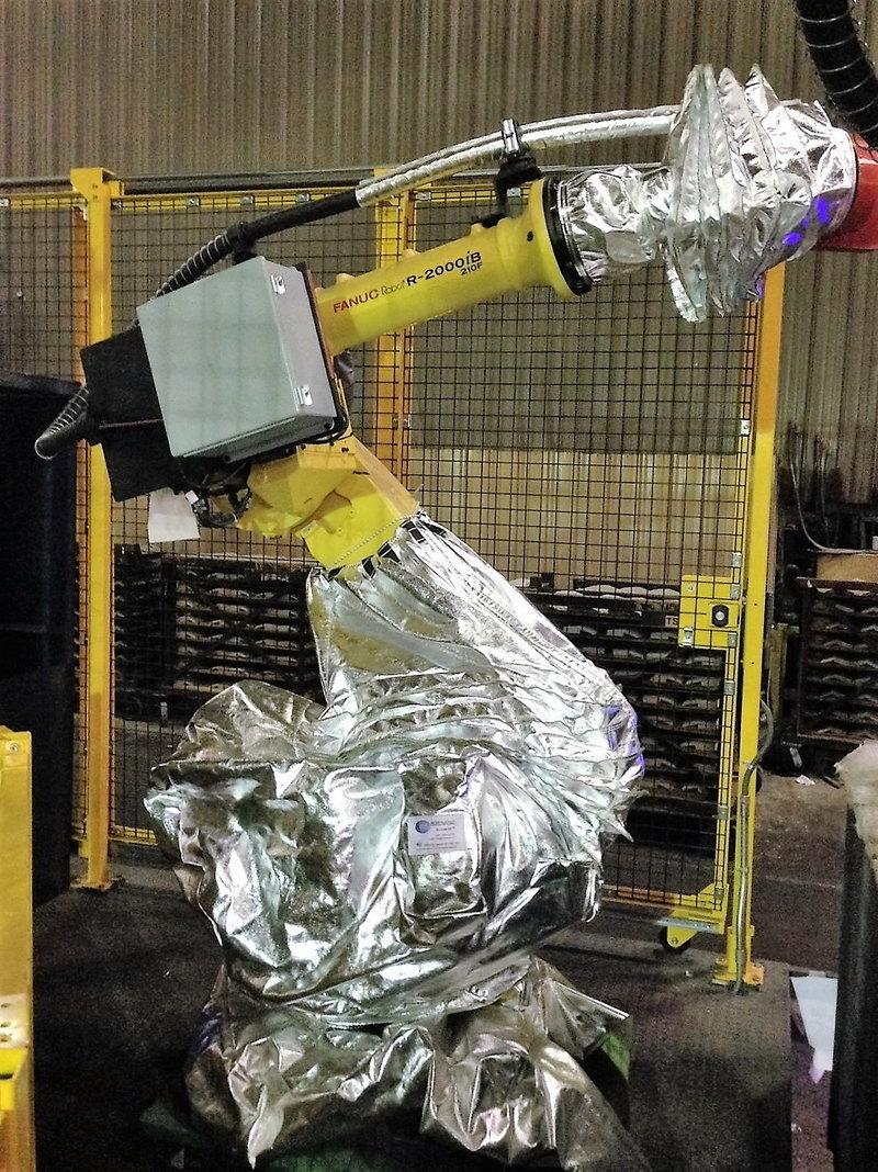 FANUC R2000iB 210F Roboworld Robosuit