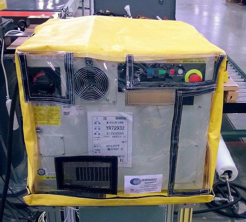FANUC R30iB Roboworld Cabinet Controller Enclosure Robosuit