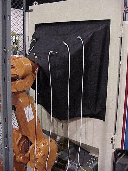 ABB IRB 2400 Roboworld Curtain Robosuit