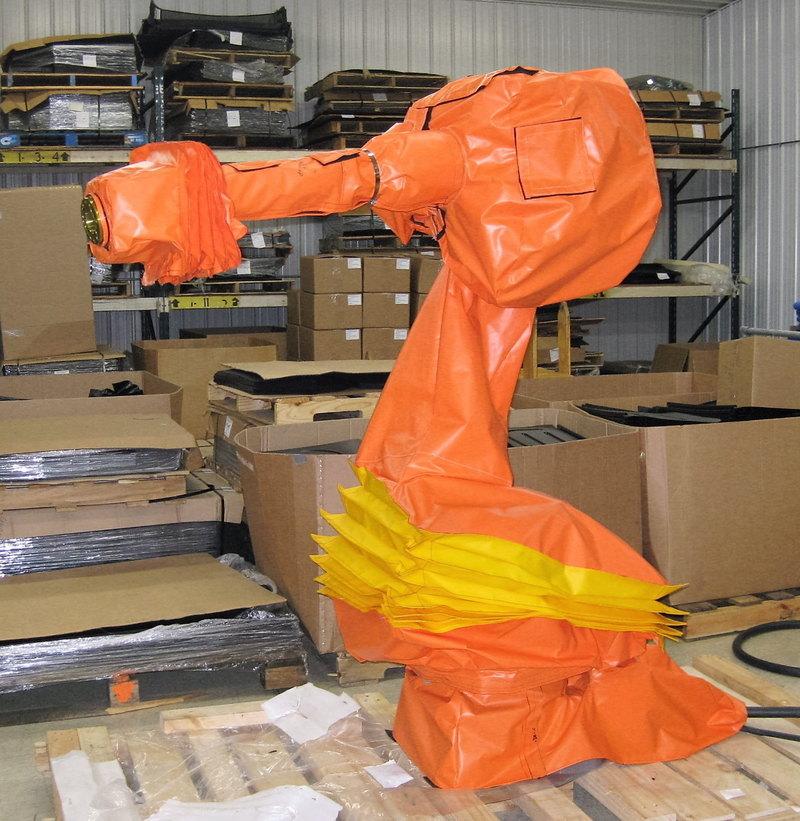 Yaskawa Motoman MH80 Roboworld Robosuit