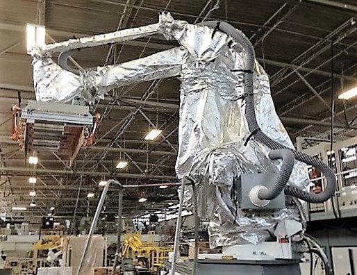 Yaskawa Motoman MPL 160 Freezer Roboworld Robosuit