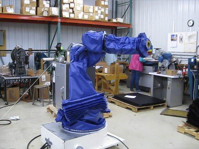 Yaskawa Motoman MH24 Roboworld Pressurized Robosuit