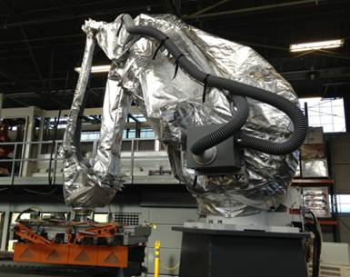 Yaskawa Motoman MPL160 Heater Roboworld Robosuit