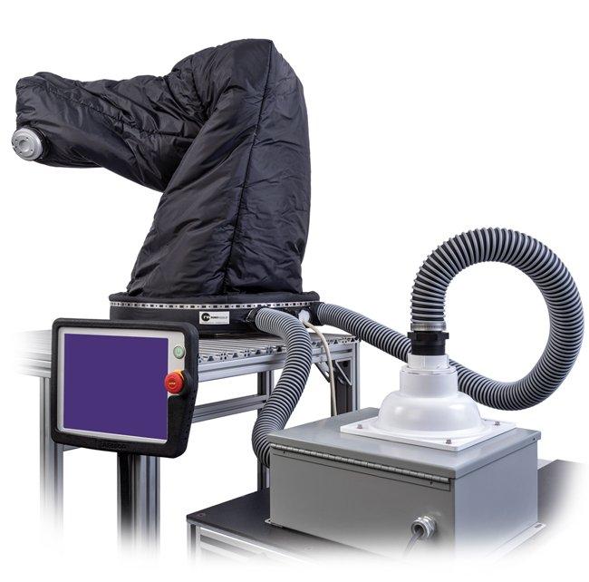 Universal Robots UR Roboworld Climate Controlled Robosuit and Pendant Armor Bumper