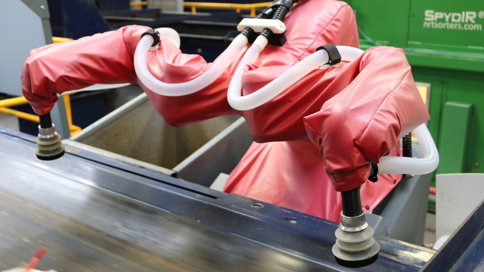 ABB YuMi Robot Robosuit