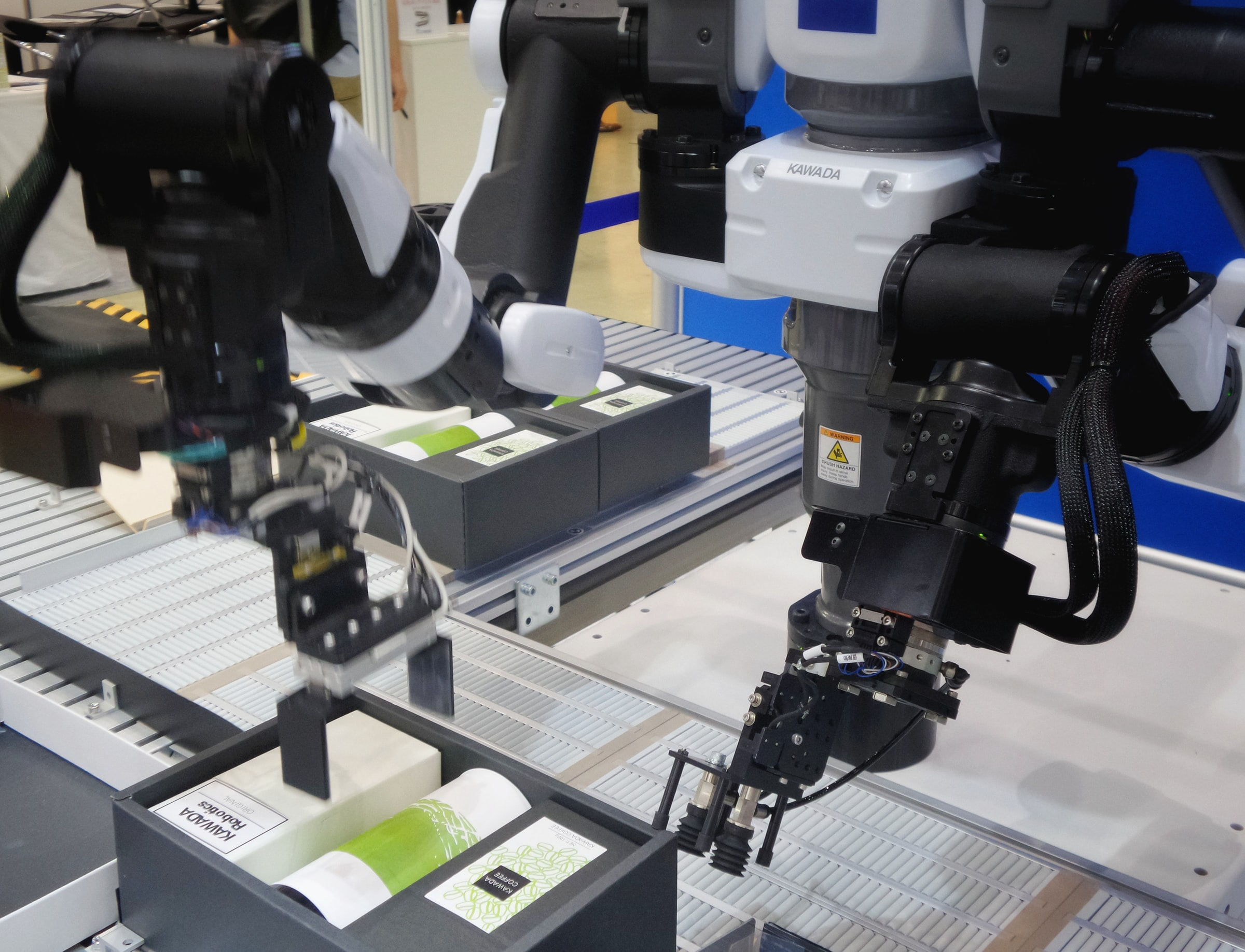 End of Arm Tooling on a Collaborative Robot